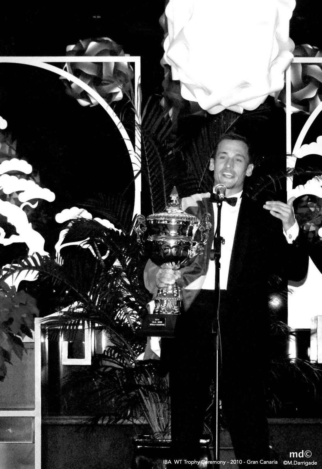 My first world title celebrated in Gran Canaria in Dec 2010