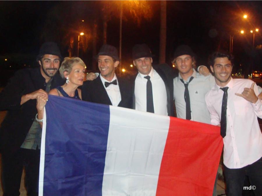 Matthieu Inchauspé, My Mum, Charly Chapelet, Stéphane Moulin, Sylvain Langlet et Pierre-Loiuis Costes.
